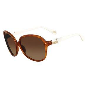 NWOT Diane Von Furstenberg Tortoise Sunglasses